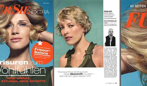PR >> Für Sie EXTRA / Kunde: J7 group / Zielgruppe: Endverbraucherinnen / Auflage: 400.000